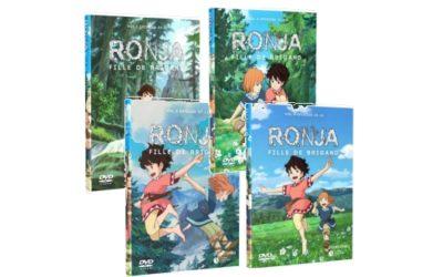 DVD Ronja – Fille de Brigand – Vol. 1 à 4