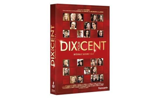 DVD Dix Pour Cent – L'Intégrale Saisons 1-4