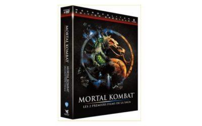 DVD-BR Mortal Kombat – Les 2 premiers épisodes de la Saga !